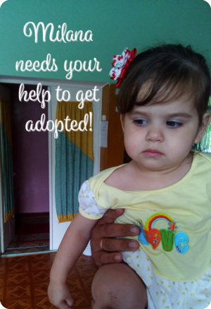 You Helped Milana Get Adopted Into Her Forever Family